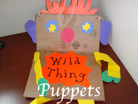 Grocery Bag Puppet